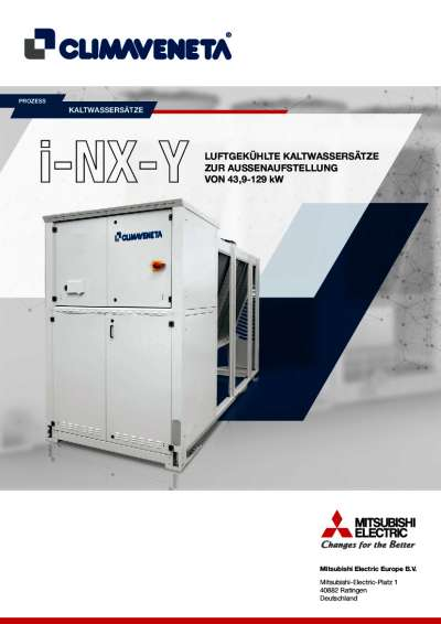 Produktinformation i-NX-Y