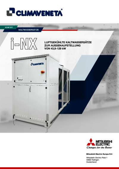 Produktinformation i-NX